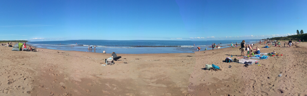 Caribou Beach Pictou County Ns
